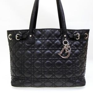 Dior Quilted Leather Cannage Shopper Tote 233793